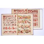 Chuckles (1917) 157-208. Complete year in two bound volumes. Starring Tiger Tim, Breezy Ben and