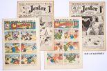 Lot 10 - Jester (1915) 687-712. 'Just the paper to send to your chum in khaki!' Propaganda WWI issues. With
