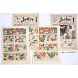 Jester (1915) 687-712. 'Just the paper to send to your chum in khaki!' Propaganda WWI issues. With