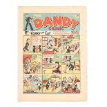 Dandy 69 (1939). Bright cover with some minor overhang wear. Off-white to cream pages, some back