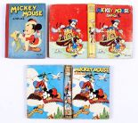 Lot 29 - Mickey Mouse Annuals (1941, 1943, 1946). 1941: Some spine wear, cream/light tan pages, 6 with panels