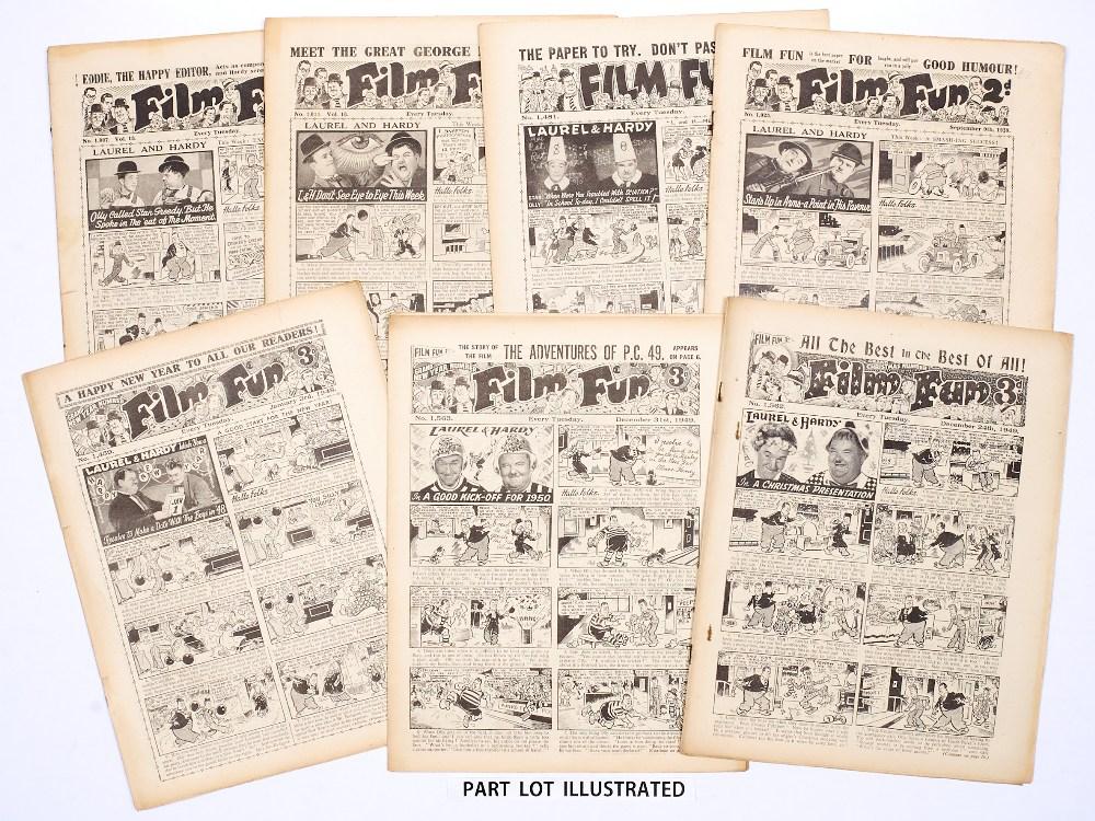 Lot 24 - Film Fun (1939-49). Starring Laurel & Hardy, George Formby, Abbott & Costello. (1939-40): 16