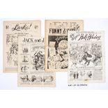 Ally Sloper's Half-Holiday (1888-91) 198, 202, 388, The Big Budget (1899) 113, 120, Comic Cuts (