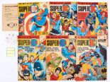 Lot 132 - Super DC (1969-70) 1-6. No 1 wfg gift wristwatch calendar and Magic Disc in manila instructions
