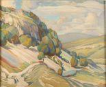 Lot 6 - Hugh GRESTY Landscape Watercolour Signed 50 x 60cm Condition report: The online