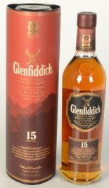 Lot 51 - A Glenfiddich 15 years old single malt Scotch whisky, 70cl, 40% vol, in original tube.