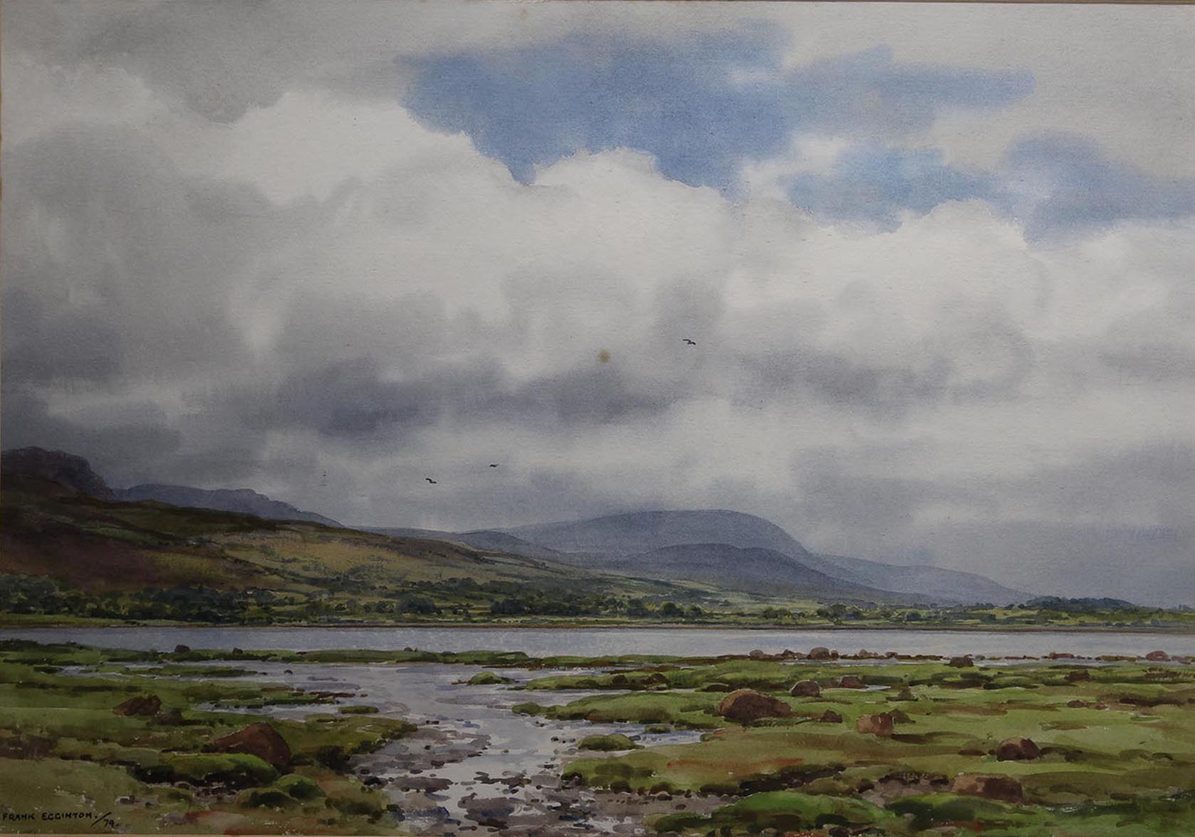 "Lot 46 - Frank Egginton STREAMSTOWN, CO SLIGO Watercolour, 15"" x 21"" (38.1 cm x 53.4 cm), signed"