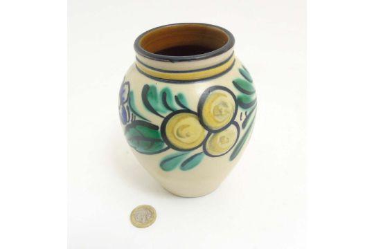 Scandinavian Studio Pottery A Swedish Vase By Ekeby Uppsala