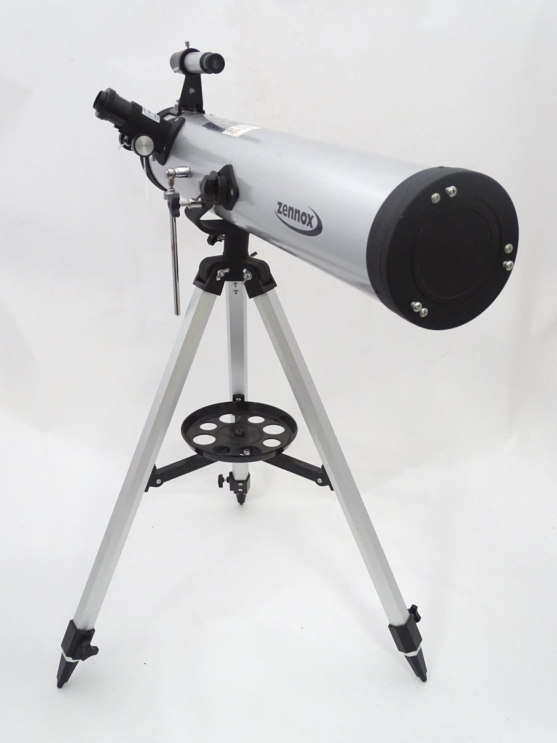 Lot 20 - A telescope by Zennox 76 x 700 CONDITION: Please Note - we do not make reference to