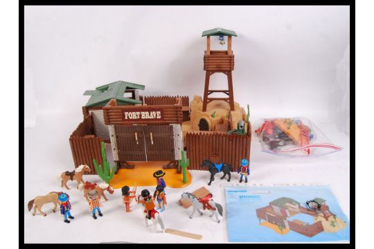 An Original Playmobil 5245 39 Fort Brave 39 Western Themed