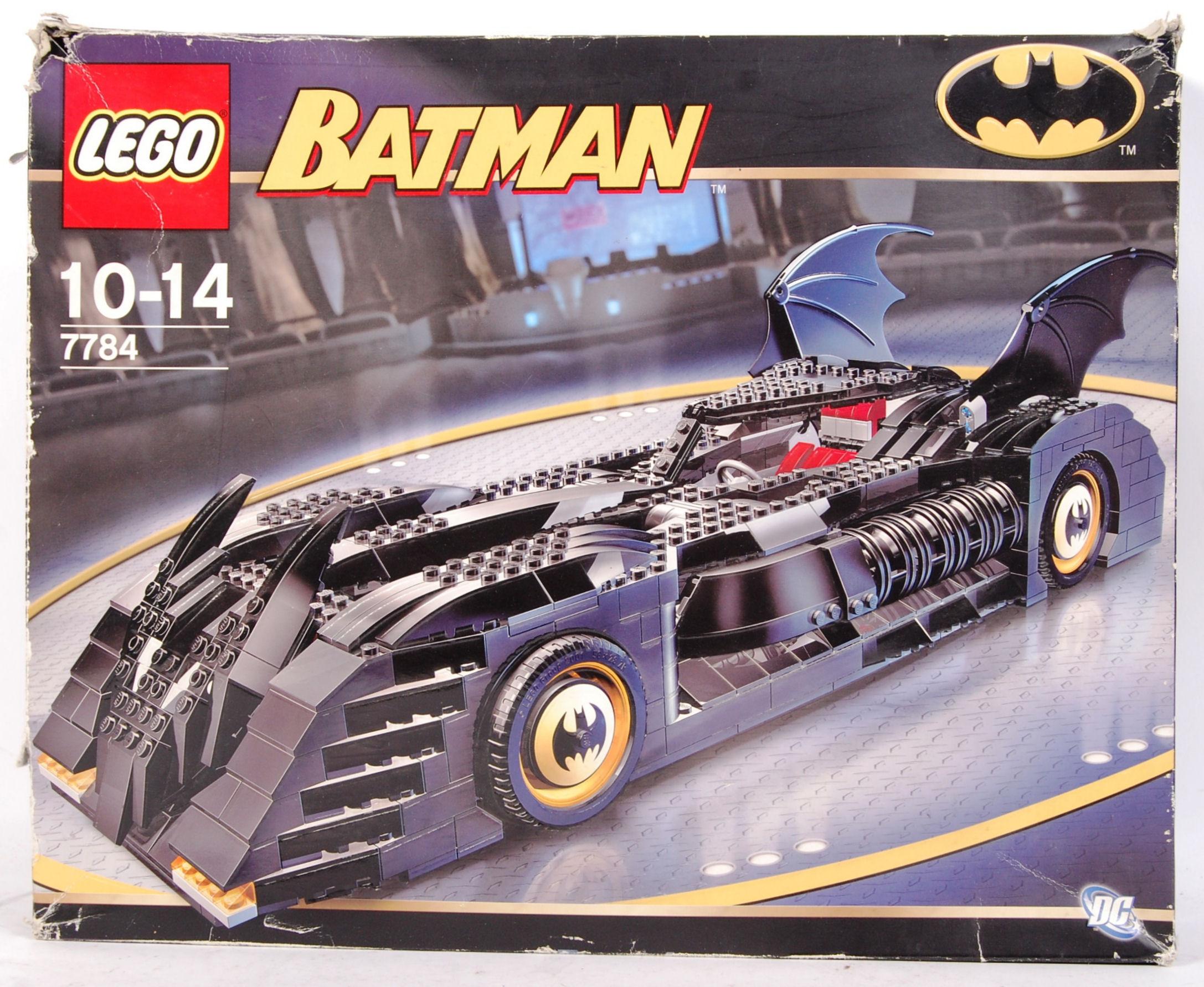 An Original First Issue Lego Batman Batmobile Set 7784 All