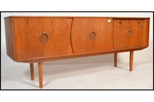Danish Sideboard Credenza : A mid century 1960s period danish inspired sideboard credenza