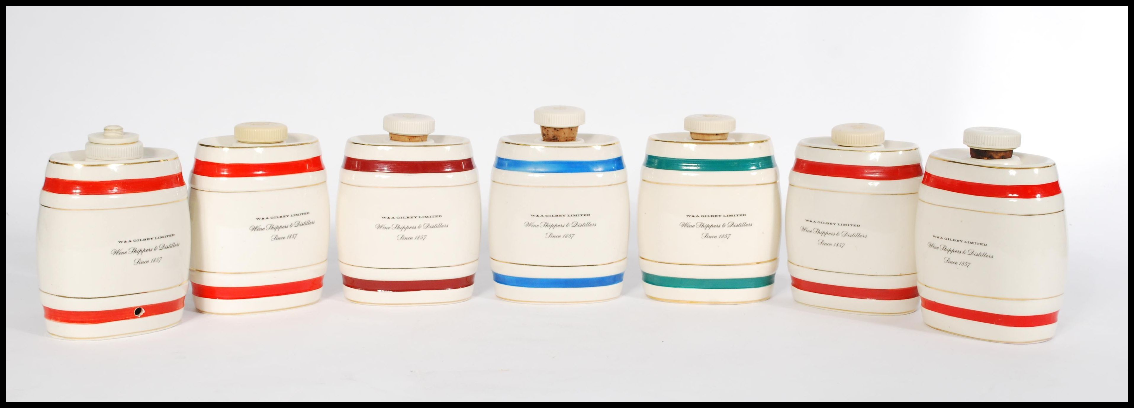 Lot 34 - A collection of ceramic point of sale advertising water jugs, to include Dewars Whisky, Royal