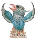 Lot 60 - A contemporary Kevin Francis / Peggy Davies model of a grotesque bird with its wings outstretched
