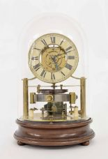 Lot 1124 - Good rare electric mantel clock by and inscribed Electric Clock Made by the Reason MFG Co. Ltd,
