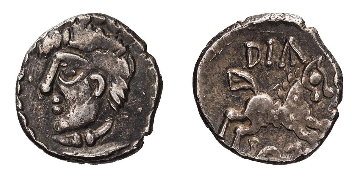 Celtic Gaul, Aedui. Diasvios. Quinarius.