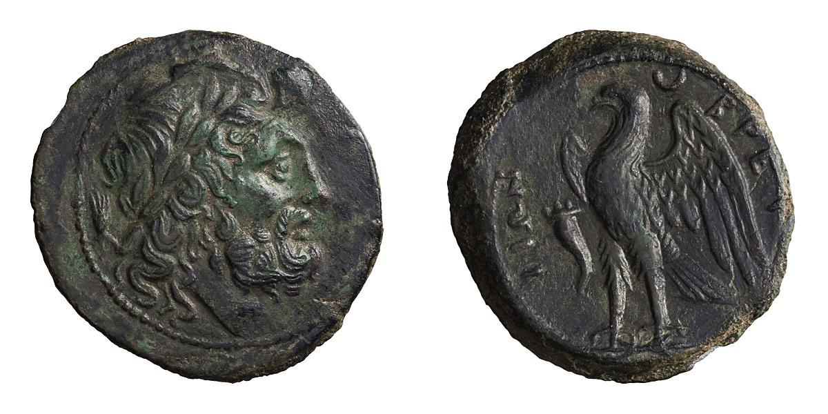 Lot 58 - Bruttium, Brettii. AE 23.