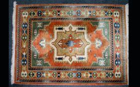Osta Carpets Wool Kabir Rug - In Very good Condition. Dimensions 140 x 195 cm.