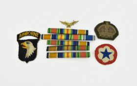 World War II Military Medals ( 5 ) Awarded to Private James Edward Brindle - British Army. Comprises