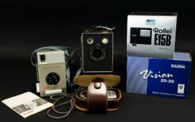 A Good Collection of Vintage Cameras and Accessories,