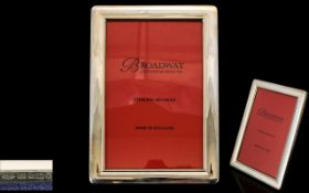 Broadway Silversmiths Silver Photo Frame Comes with Original Box, Never out of Box. Mint Condition.