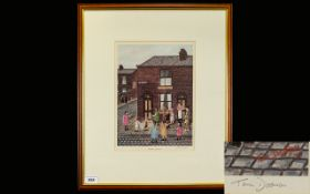 Tom Dodson 1910 - 1991 Artist Pencil Signed Ltd and Numbered Edition Colour Print.