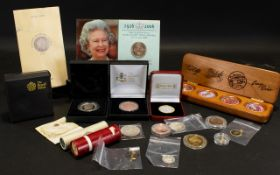 Box of Specialised Collectors Coins including: 2006 limited edition five pound coin 1997 Midland