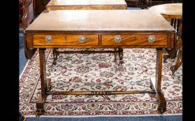 A Mahogany Sofa Table. An early 20th cen