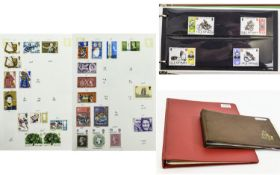 Six Stamp Cover Albums Full of Specialis