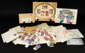 An Assortment of Stamps, Mixed foreign s