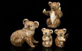 Beswick Set ( 4 ) Animal Figures ' Koala