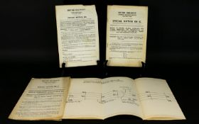 Railway Interest. Original Re Signallin