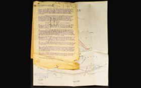Railway Interest - GWR Part Plan of Rive
