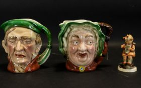 Beswick Ware Hand Painted Large Characte