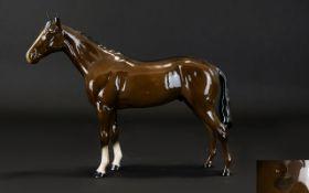 Beswick Horse Figure ' Bois Roussel ' Ra