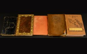 Four Early Books Of Poems And An Almanac