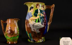 Burleigh Ware 1930's Hand Painted Jug /