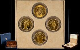 Royal Mint Queen Elizabeth II Sovereign Portrait Collection.