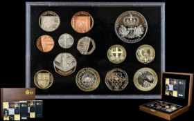 Royal Mint United Kingdom Ltd and Numbered Edition Executive Proof Coin Set Collection for this