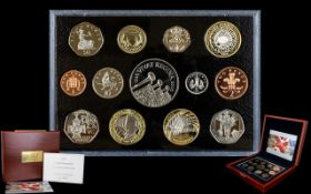 Royal Mint 2006 United Kingdom Ltd Edition and Numbered Executive Proof Coin Set ( 13 ) Proof Coins