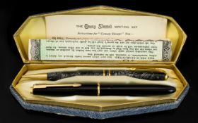 Parker Pen Co Slim fold Fountain Pen with 14ct Gold Nib,