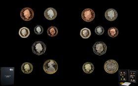 Royal Mint - Ltd Edition 2015 United Kingdom Proof - Definitive Coin Sets,