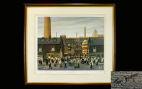 Tom Dodson 1910 - 1991 Artist Pencil Signed Ltd and Numbered Edition Colour Print. Titled ' Dinner -