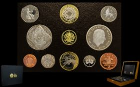 Royal Mint Issue 2008 United Kingdom Executive Proof Coin Collection In a Ltd and Numbered Edition