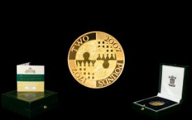 Royal Mint - Ltd and Numbered Edition 300 th Anniversary of The Act of Union United Kingdom - Two