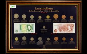 Sterling Collection Ancient to Modern British Currency From 1551 to Present Day. Please See Photo.