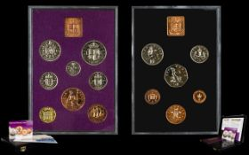 Royal Mint Issue Offered by The London Mint Office - The Last and First Proof Sets of British