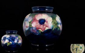 W. Moorcroft Signed - Large Globe / Bulb