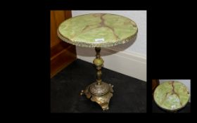 Onyx Occasional Table