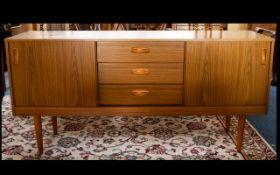 A 1970s Shreiber Sideboard, rectangular